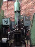 Eitel P10S, Vertical Broach Hydraulic C-Frame Press (709)