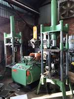 60Ton (2 x presses 1 x powerpack) Hydraulic 4-Pillar Press (6378)