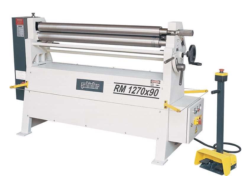 Sahinler Isitan RM 1270x90 Motorised Plate Roll (3718)