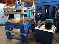 +-25 Ton, 1240 x 750mm Hydraulic 4-Pillar Press (7670)