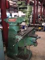 Bridgeport Step pulley head Turret Milling Machine (4717)