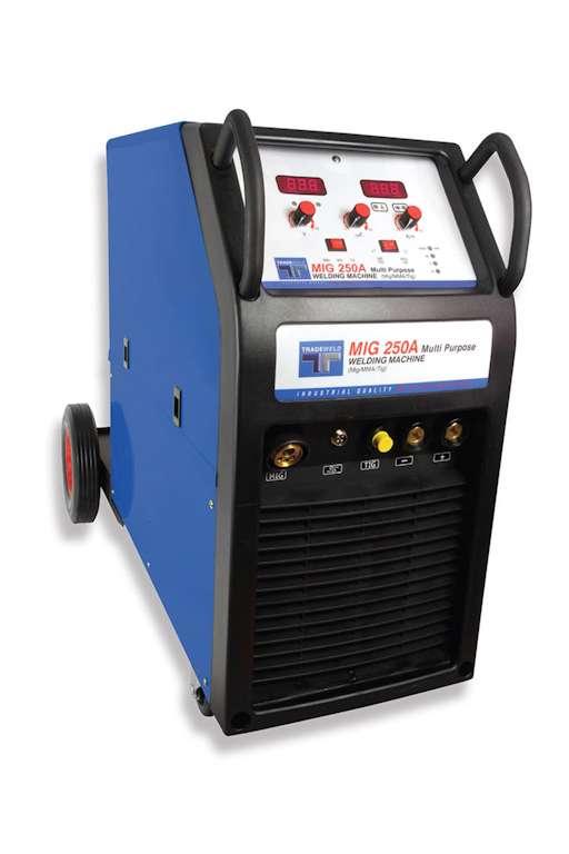 Tradeweld EWM0137-I MIG 250 M Inverter Multi-Process Welding Machine (819)