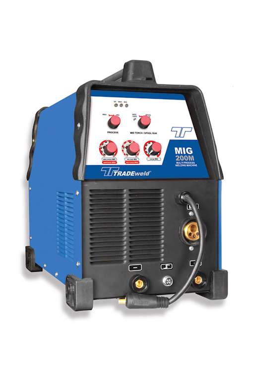 Tradeweld EWM0136M MIG 200 M Inverter Multi-Process Welding Machine (5082)