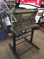 Triok Pacific One Roller, Guillotine, Bender Manual Plate Roll (8999)