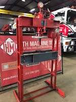 Servex 33 Ton Hydraulic H-Frame Press (9235)