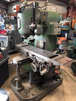 Adcock Shipley ISO40 Vertical Milling Machine (9455)