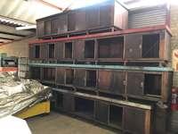 4300 x 910mm Steel Work Bench (9649)