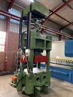 Rice and Co 500 ton Hydraulic 4-Pillar Press (9543)