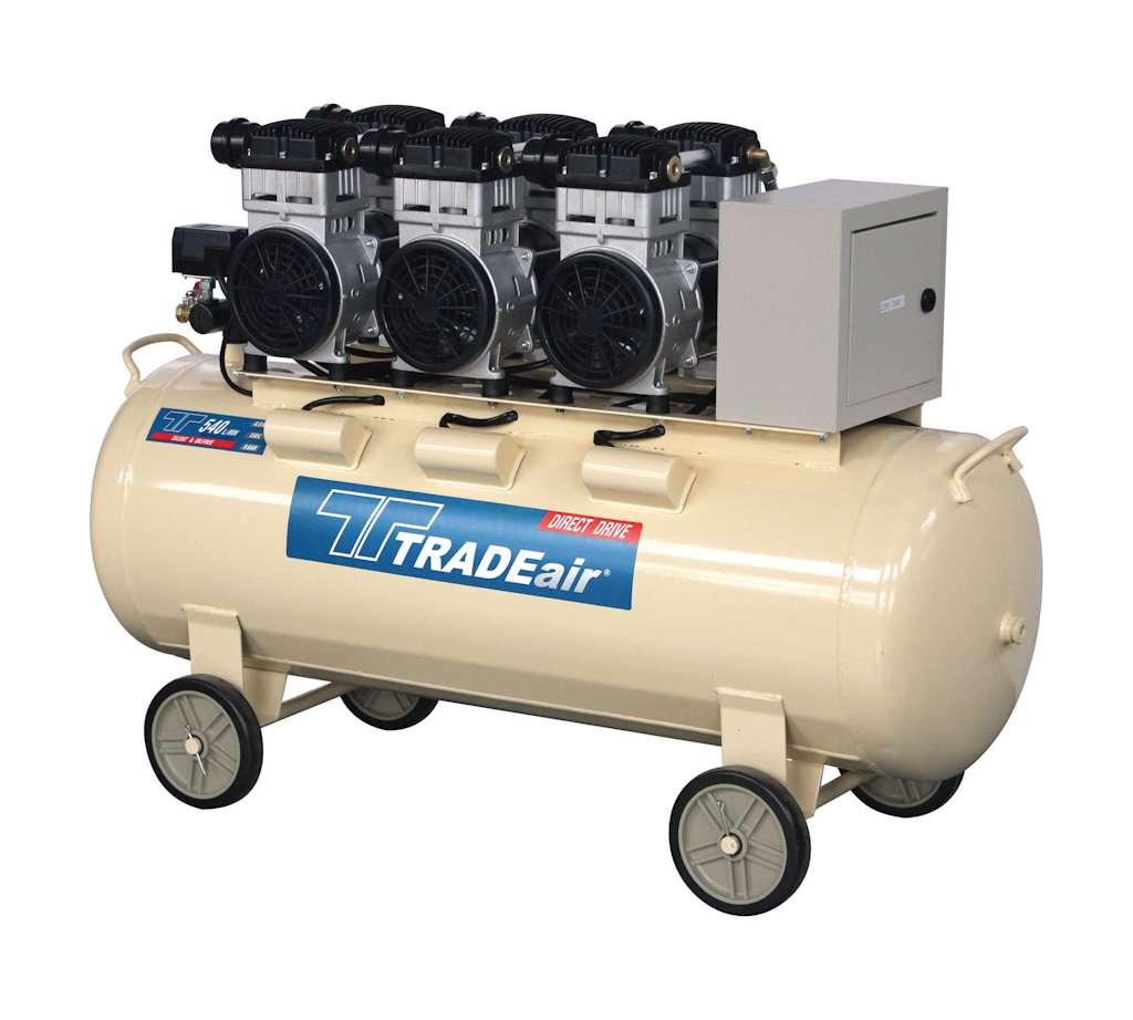 TRADEair MCFRC247-150L3.3kW Silent & Oil Free Compressor (9915)