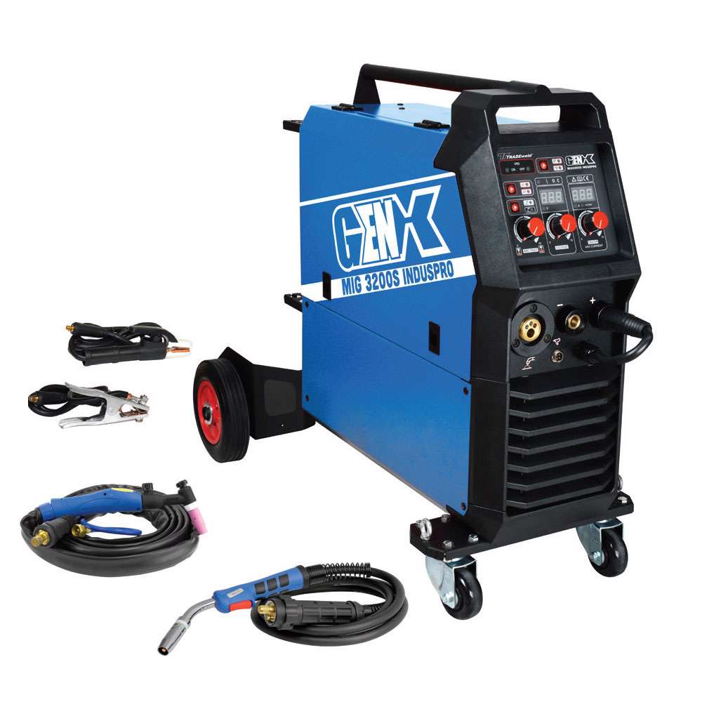 Tradeweld EWM0138-I GENX MIG2800S Induspro Inverter Multi-Process Welding Machine (9910)