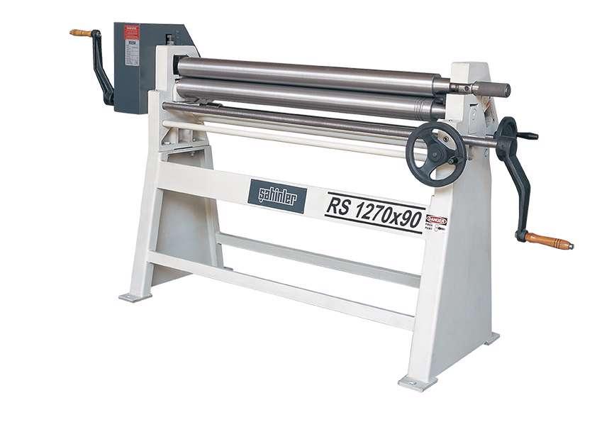 Sahinler Isitan RS 1550x90 Manual Plate Roll (5526)