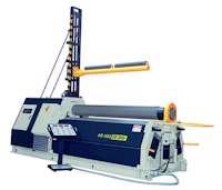 Sahinler 4R HSS Series Hydraulic Plate Roll (4317)