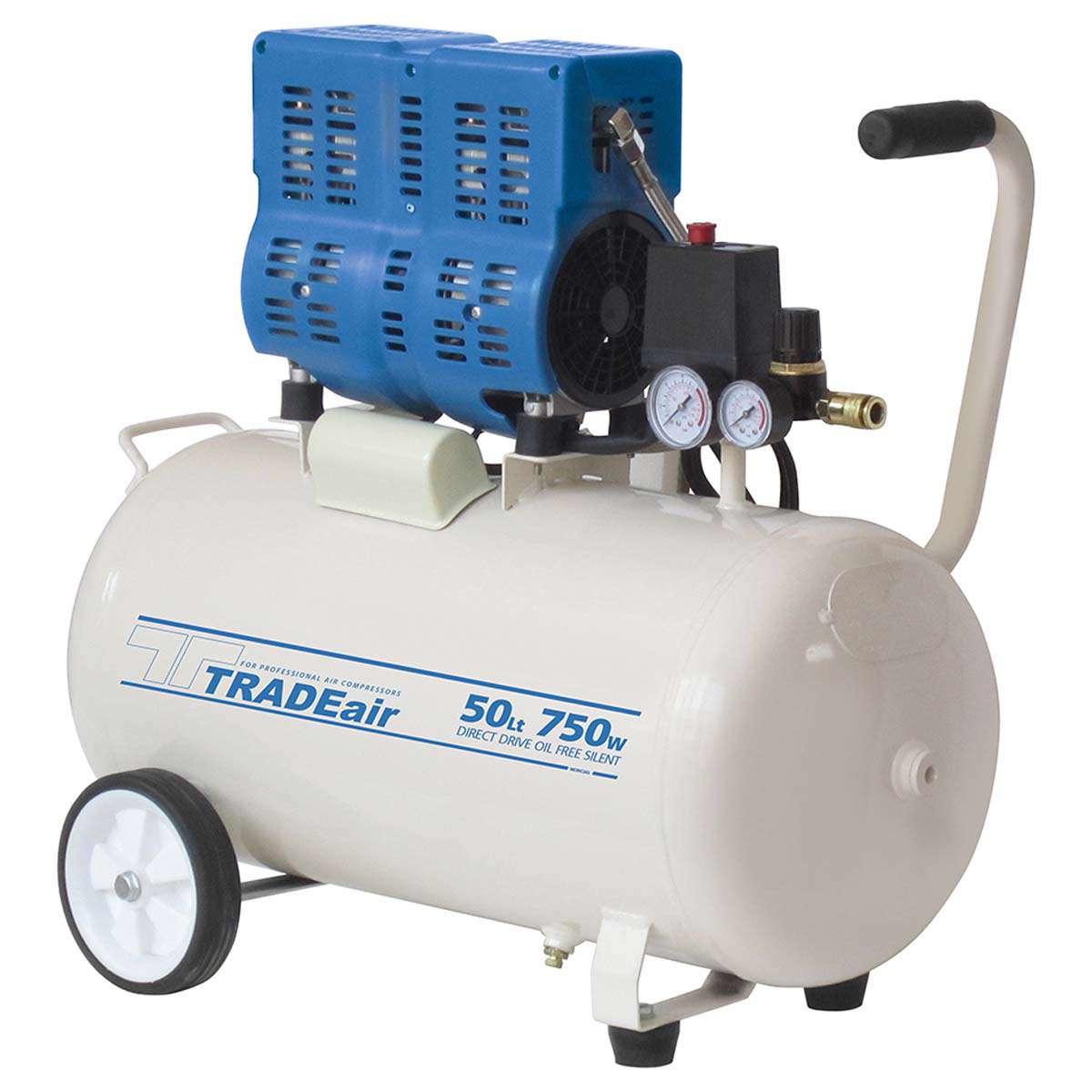 TRADEair MCFRC242-50L750W Silent & Oil Free Compressor (11292)