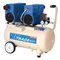 TRADEair MCFRC244-100L750Wx2 Silent & Oil Free Compressor (10596)